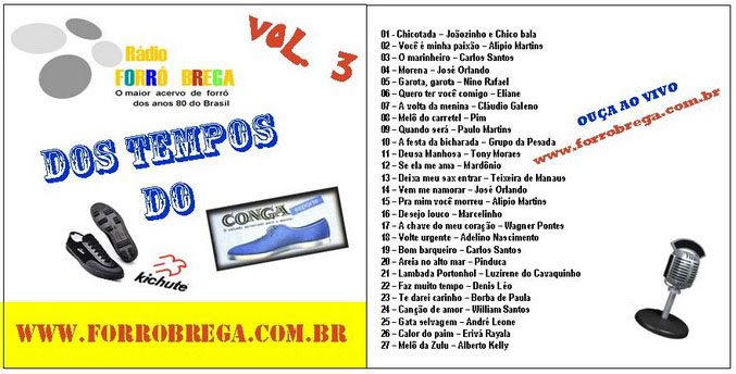 Vol 03 – Dos tempos do conga e do kichute.