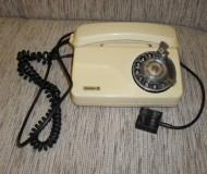 TELEFONE DE DISCO ANTIGO COM CADEADO