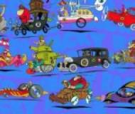 """E aí, vc torcia por quem nesta """"corrida maluca"""": Peter perfeito, Rufus lenhador, Sargento Bombarda e Soldado Meekly, Quadrilha da morte, Professor aéreo, Penélope charmosa, Irmãos Rocha, Cupê Mal-Assombrado, Barão Vermelho, Tio Tomás e o chorão, Dick Vigarista e Muttley com sua máquina do mal ?? Registra abaixo o seu voto…"""